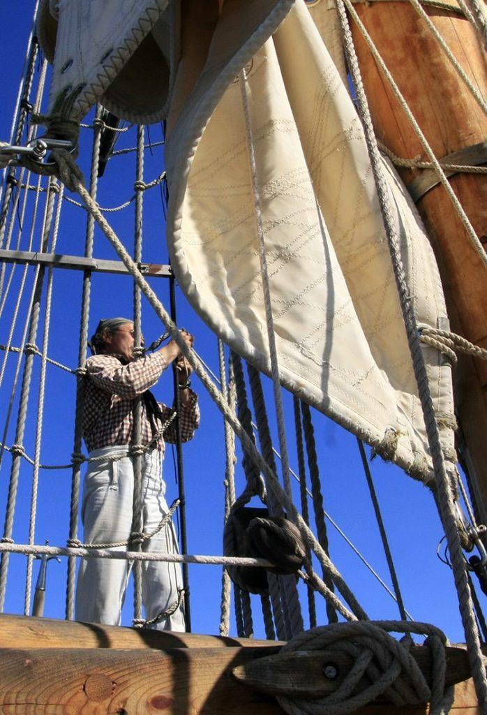 Activités en groupe à bord de voiliers traditionnels