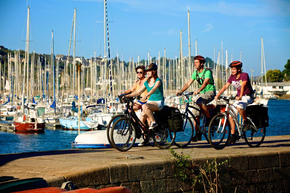 Activité balade en vélo Bretagne