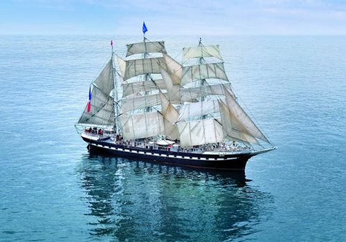 Voilier traditionnel Bretagne Belem