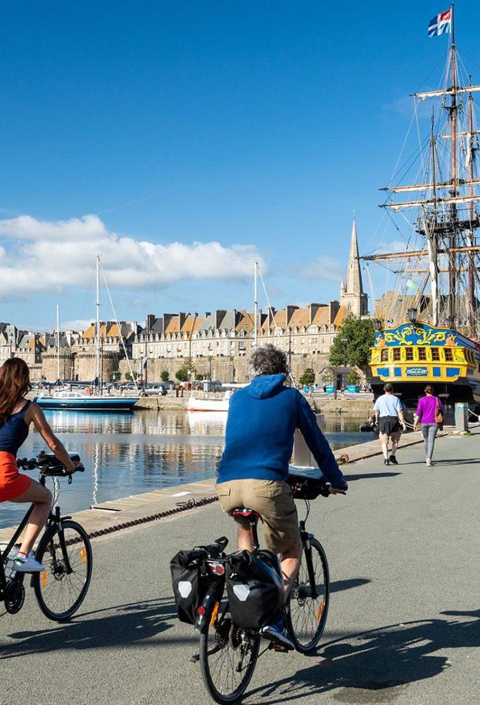 Activité randonnée en vélo Bretagne