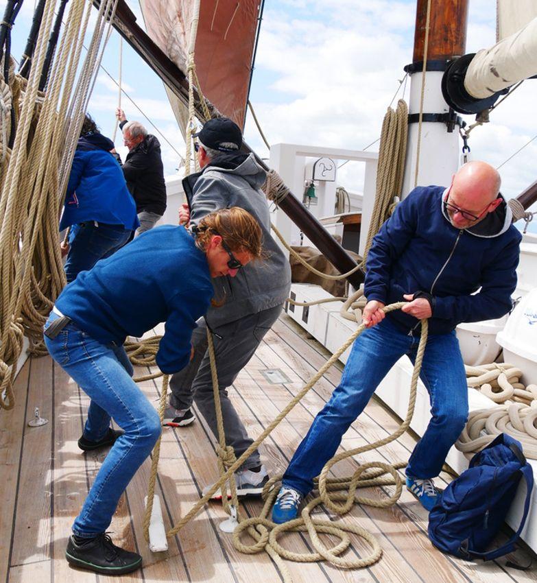 Activités à bord de voiliers traditionnels